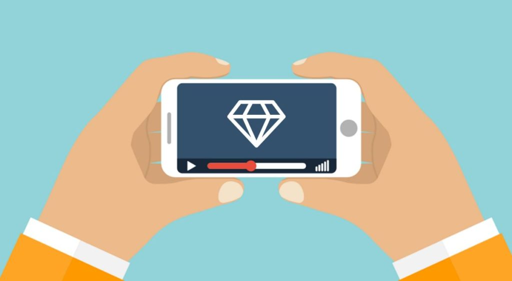 22 percent luxury shoppers watch videos before purchasing a luxury item.