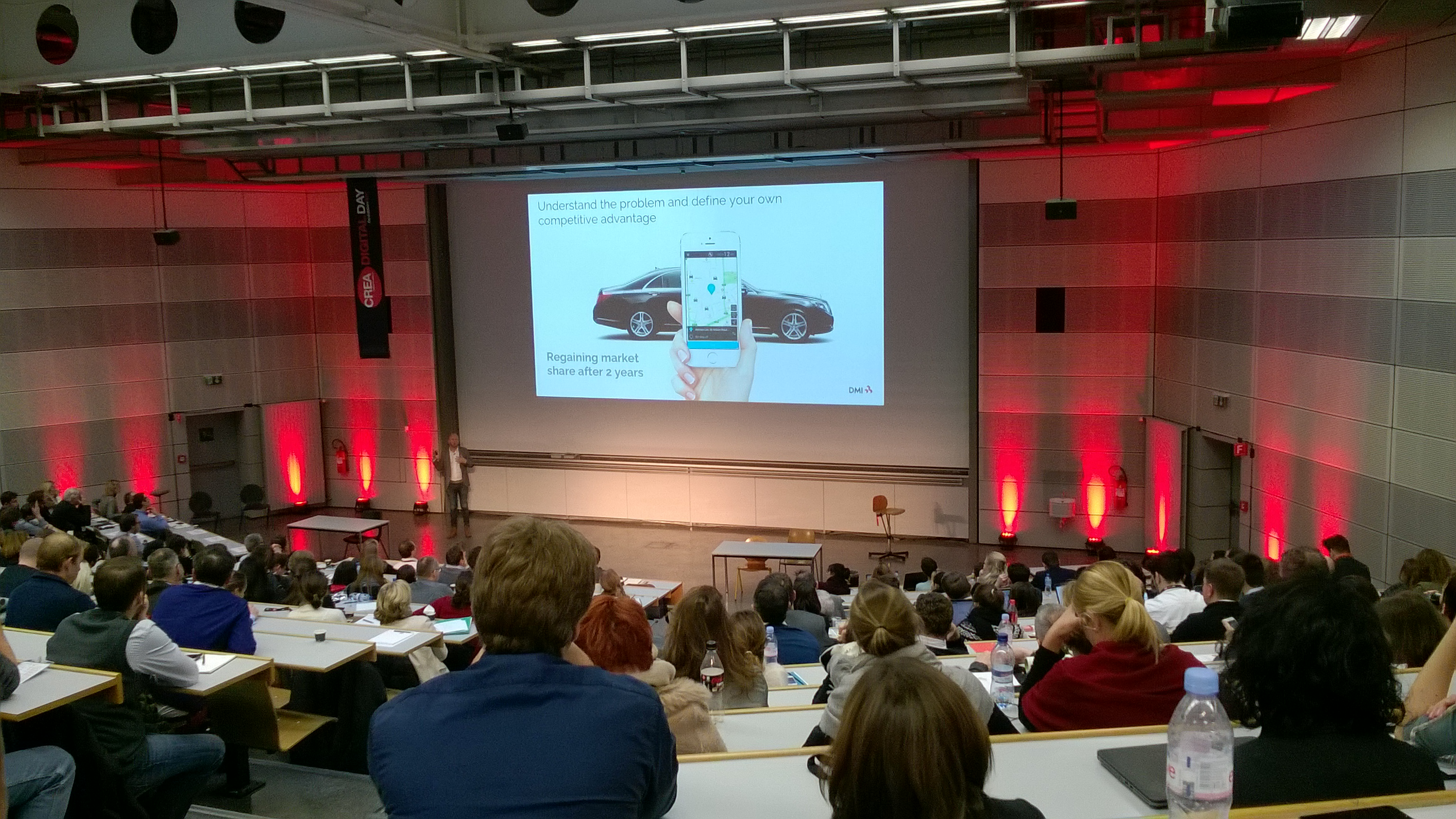 Magnus Jern, from DMI Internaional, about innovation and testing