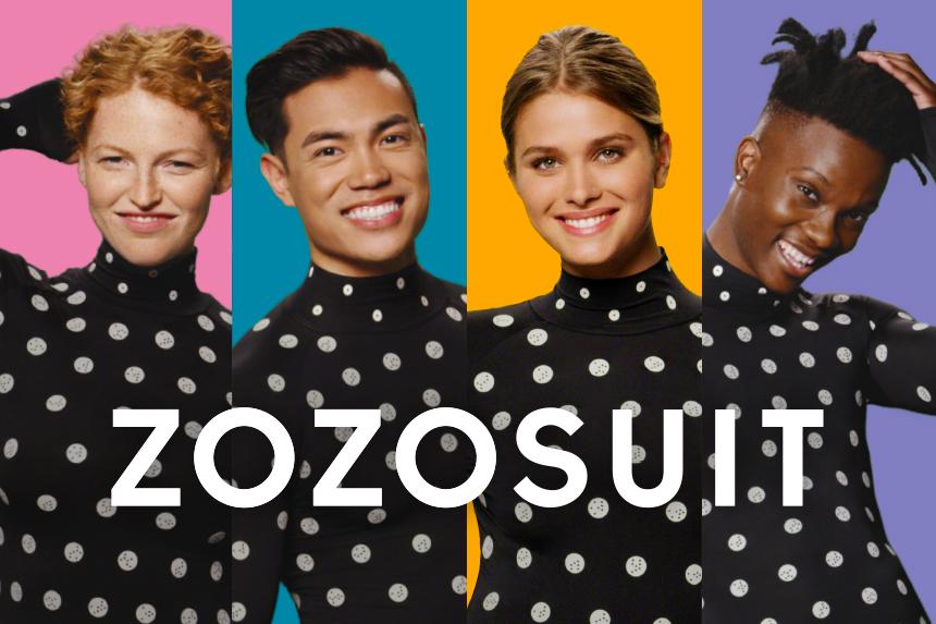 Zozo custom-fit suit